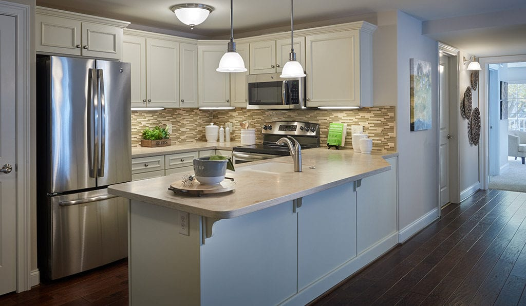 Kitchen at Willow Valley