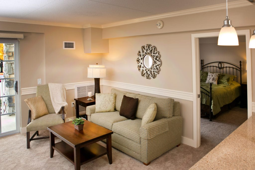 Luther Acres retirement living space
