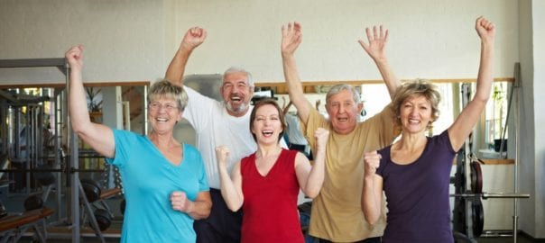 Active retired adults