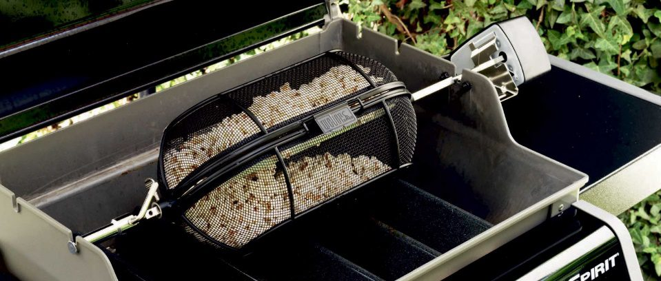 grill features for popcorn