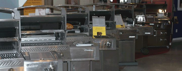 grills selection in-store