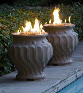 fire pit urns