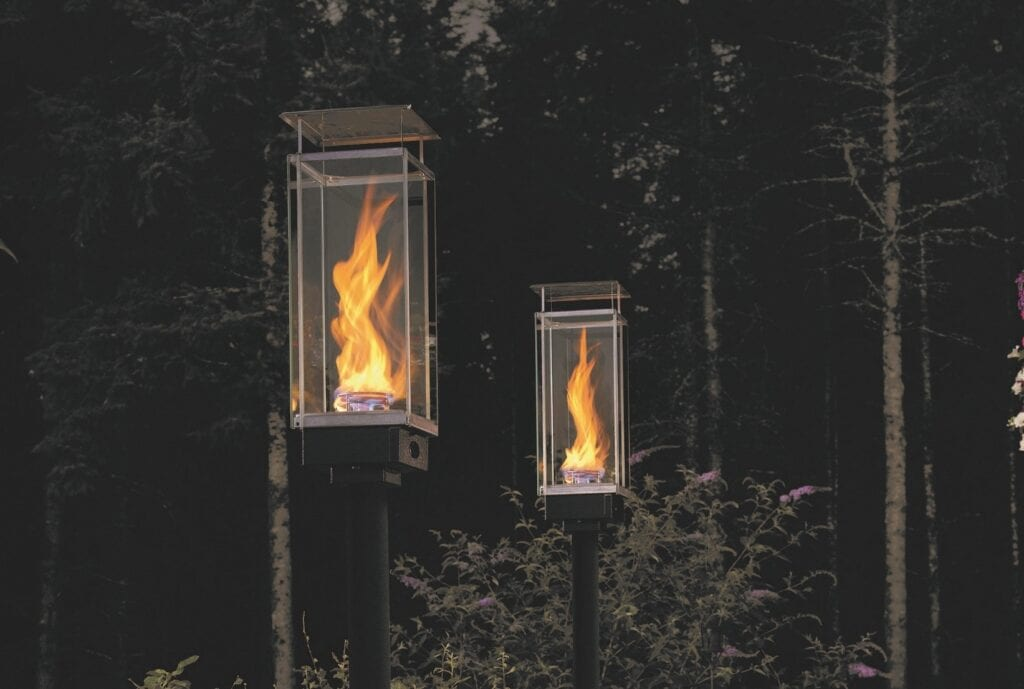 Tempest torch gas outdoor lighting lanterns