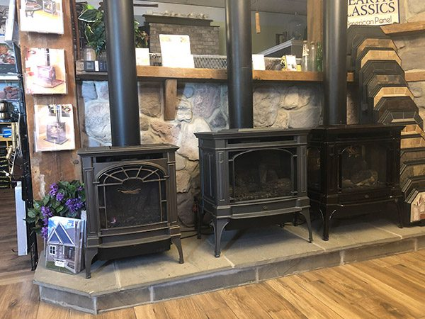 gas stoves in storeroom