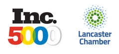 inc5000 and Lancaster Chamber logo