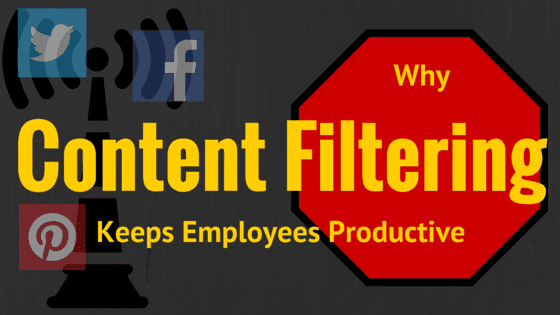 content filters keeps employees productive
