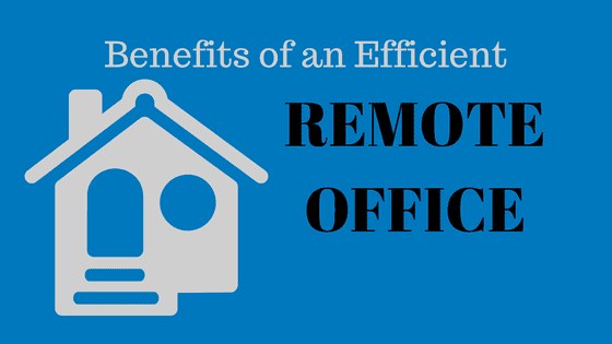 benefits of remote office