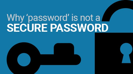 why 'password' is not a secure password