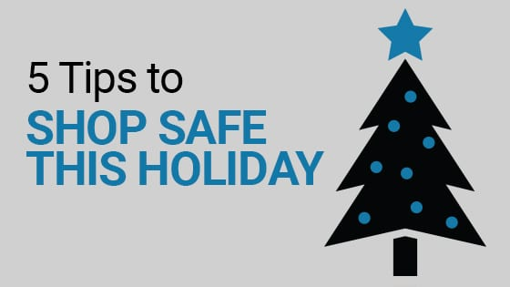 5 tips to shop safe this holiday
