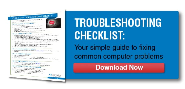 Download our troubleshooting checklist