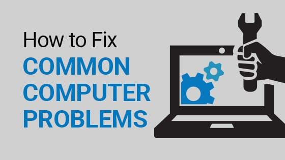 how to fix common pc problems