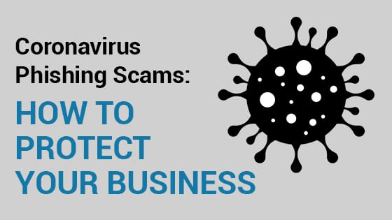Coronavirus Phishing Scams Header