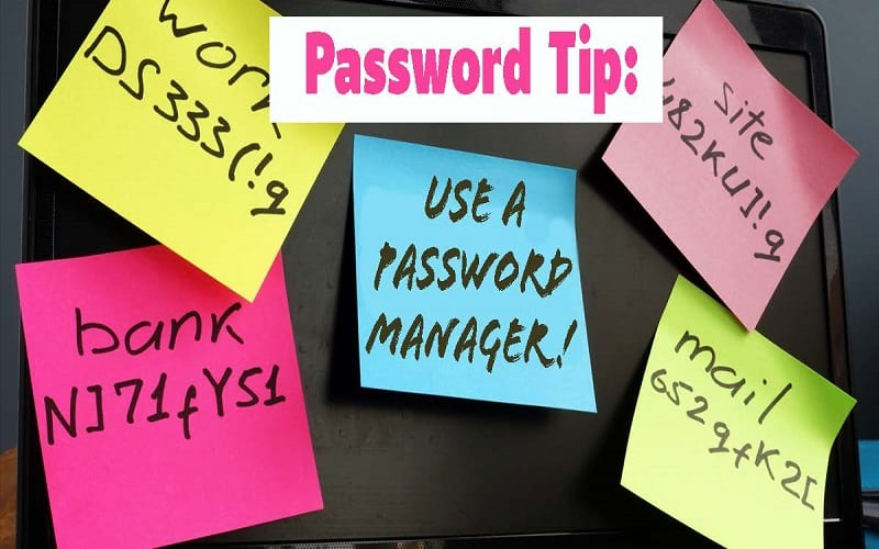 Password Tip: use a password manager