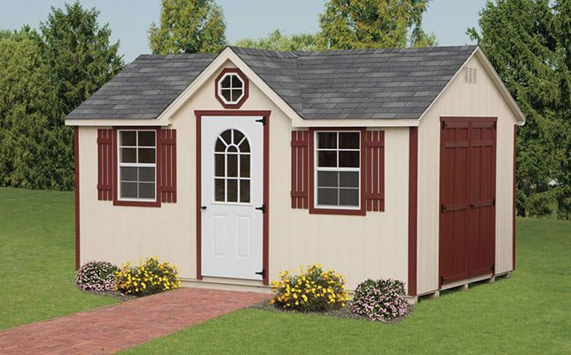 10 x 16 chalet shed