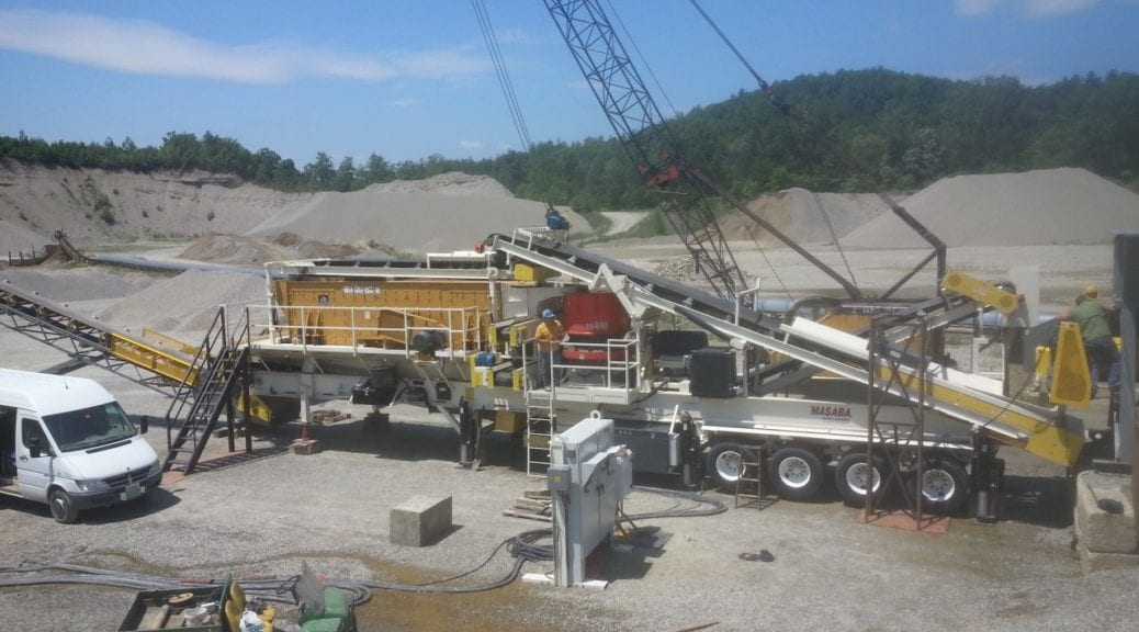 Portable equipment is on-trend in the aggregate industry today