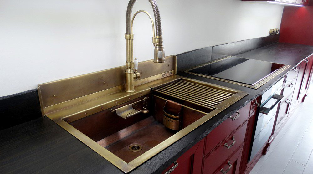 covered sink