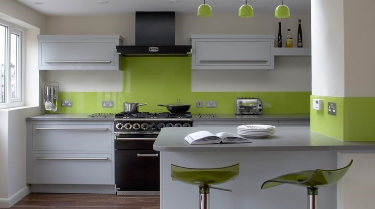 Kitchen with Bold Colors