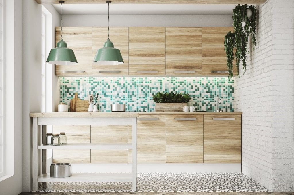 Kitchen with Earth-Centered Colors