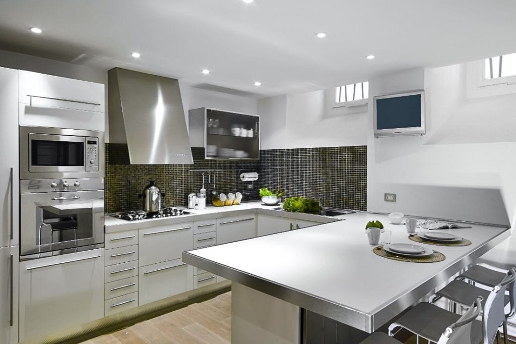 Kitchen with Time-Tested Neutrals