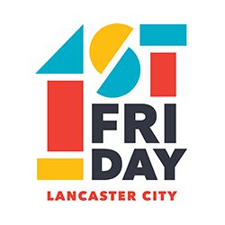 First Friday in Lancaster logo