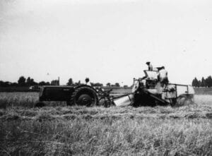 historical tractor photo