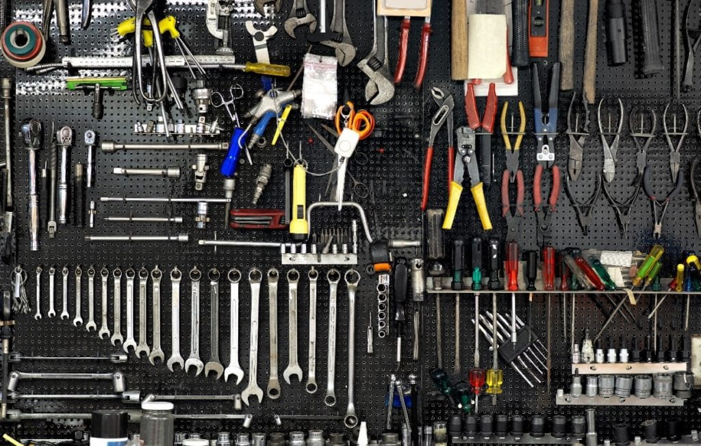 Pegboard Sections