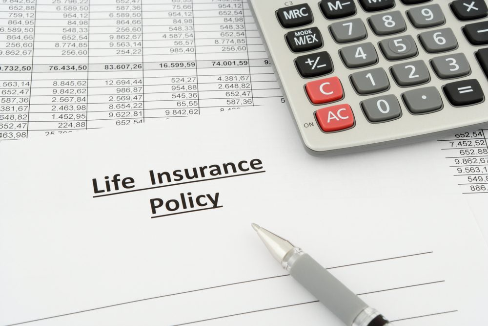 Life insurance policy graphic