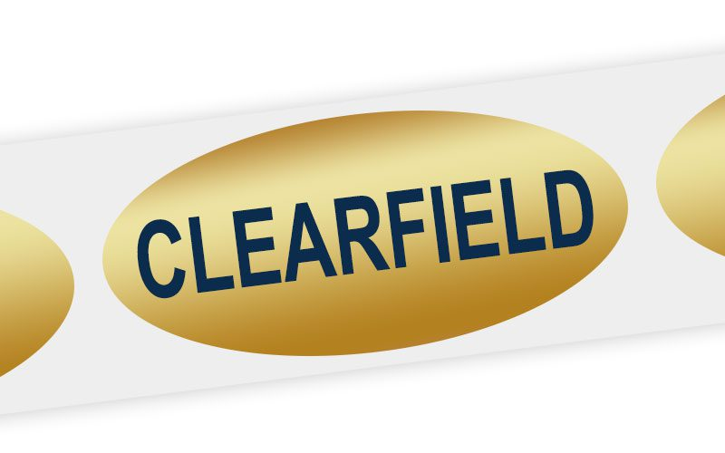 clearfield cheese label