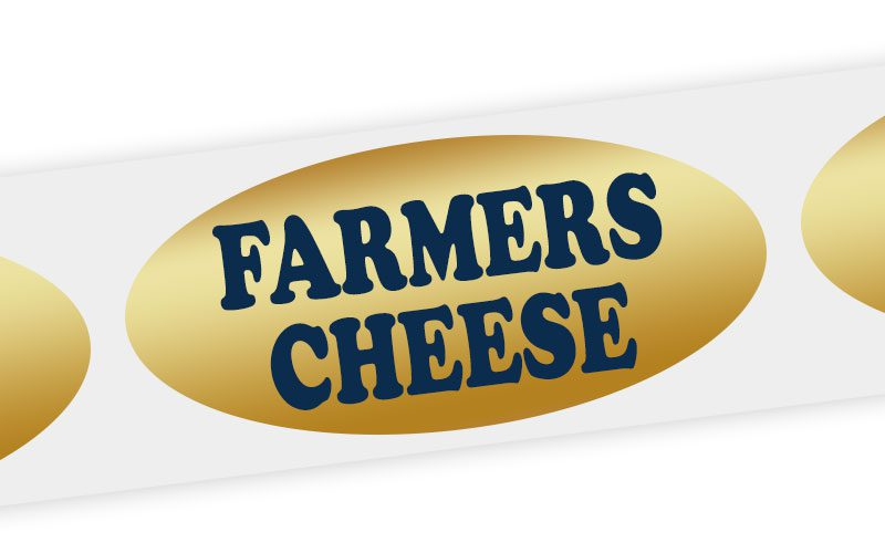 farmers cheese label
