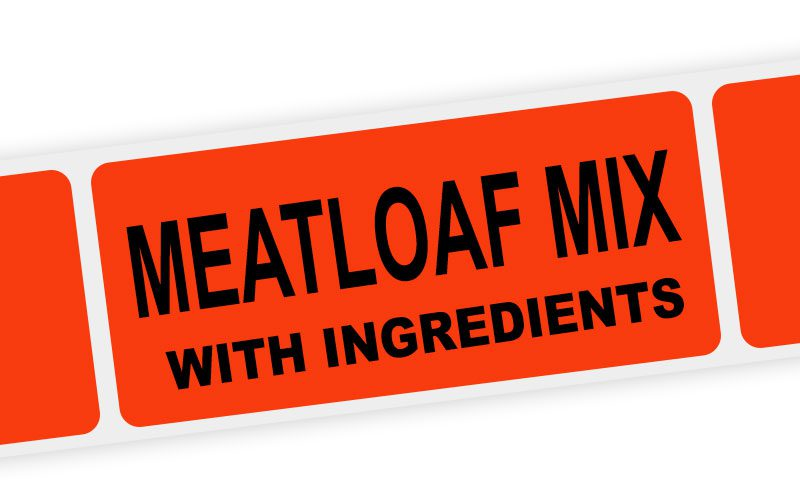 meatloaf mix with ingredients label
