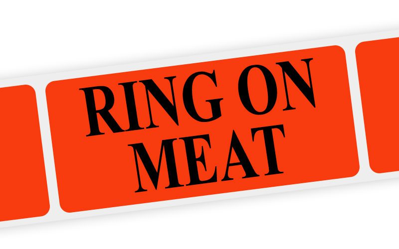 ring on meat label