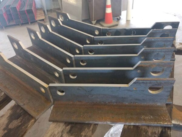 waterjet cutting angles